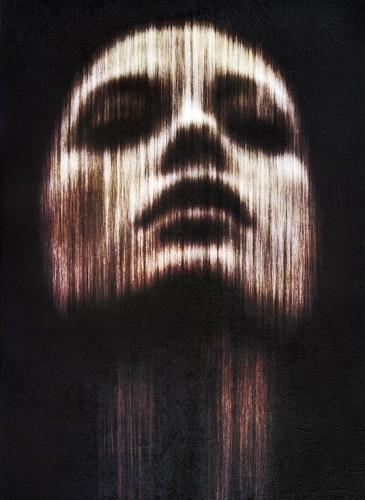 Corinne Héraud Miroir secret # 16   2015 - 100 x 70 cm - Photographie et technique mixte sur châssis bois - 2200 euros-BD