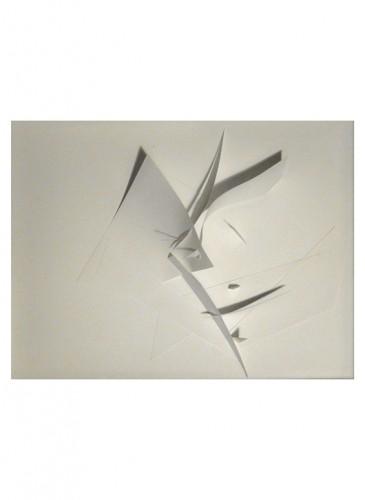 Livia Dudouit,sculpture de papier-BD