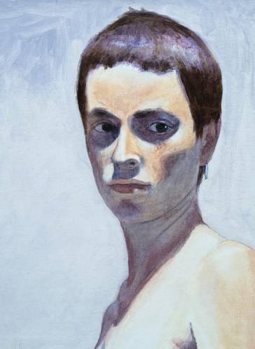 Marc Tanguy J.A huile sur toile 60x60 cm-BD