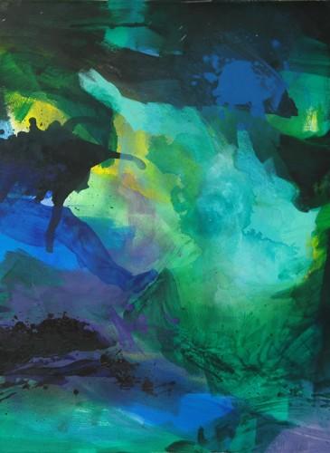 Mihael Cepanec Sans titre II huile sur toile 100x100cm-BD