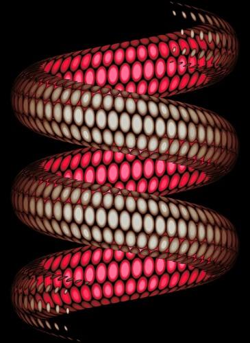 Olivier Steinert Abyssal Life 40 x60 cm oeuvre numérique 2014-BD
