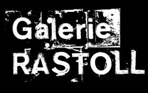 Logo fond noir Galerie RASTOLL-BD