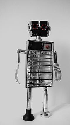 assemblage robot sculpture gille monte ruiciBD