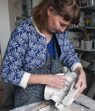 Atelier Cécile Chareyron à St Ouen