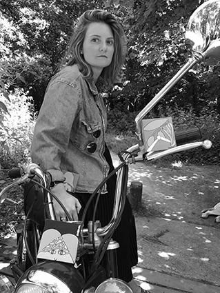 Portrait Audrey Fasquel - ParisartistesBD 17